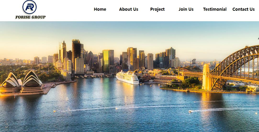 Warm congratulations on Forise Group Pty Ltd Website opened